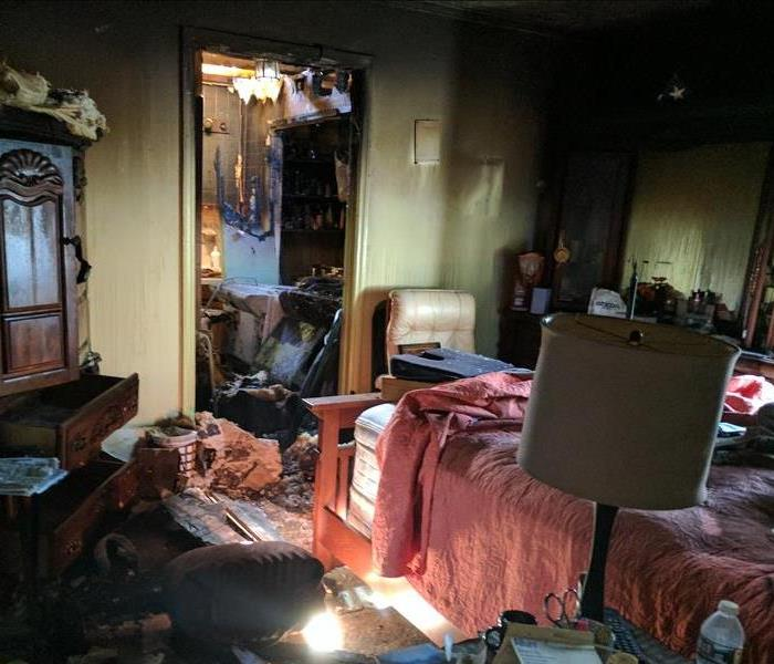 Residential Fire Damage Before