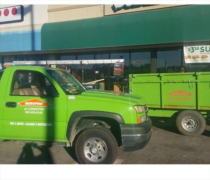 SERVPRO helps local Subway