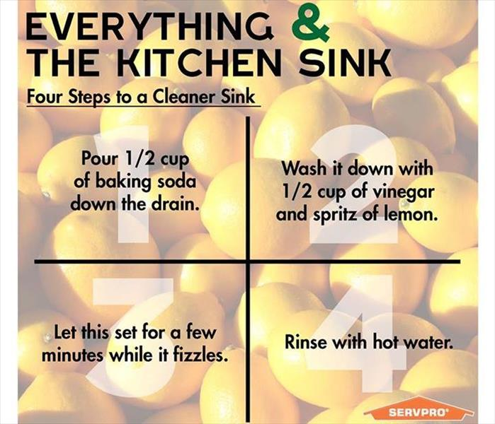 Cleaning When Life Gives You Lemons- Clean Your Sink