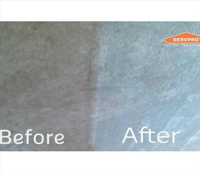 Cleaning Why yes, SERVPRO does clean Upholstery!