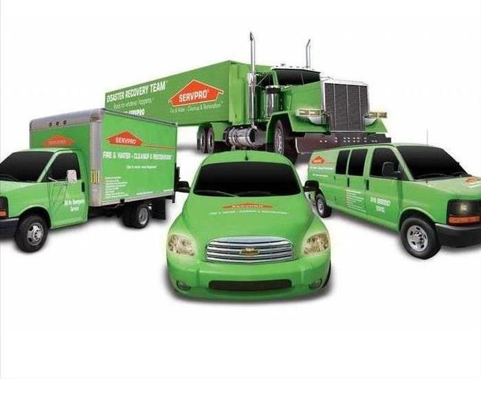 Why SERVPRO Do you know why SERVPRO trucks are green?